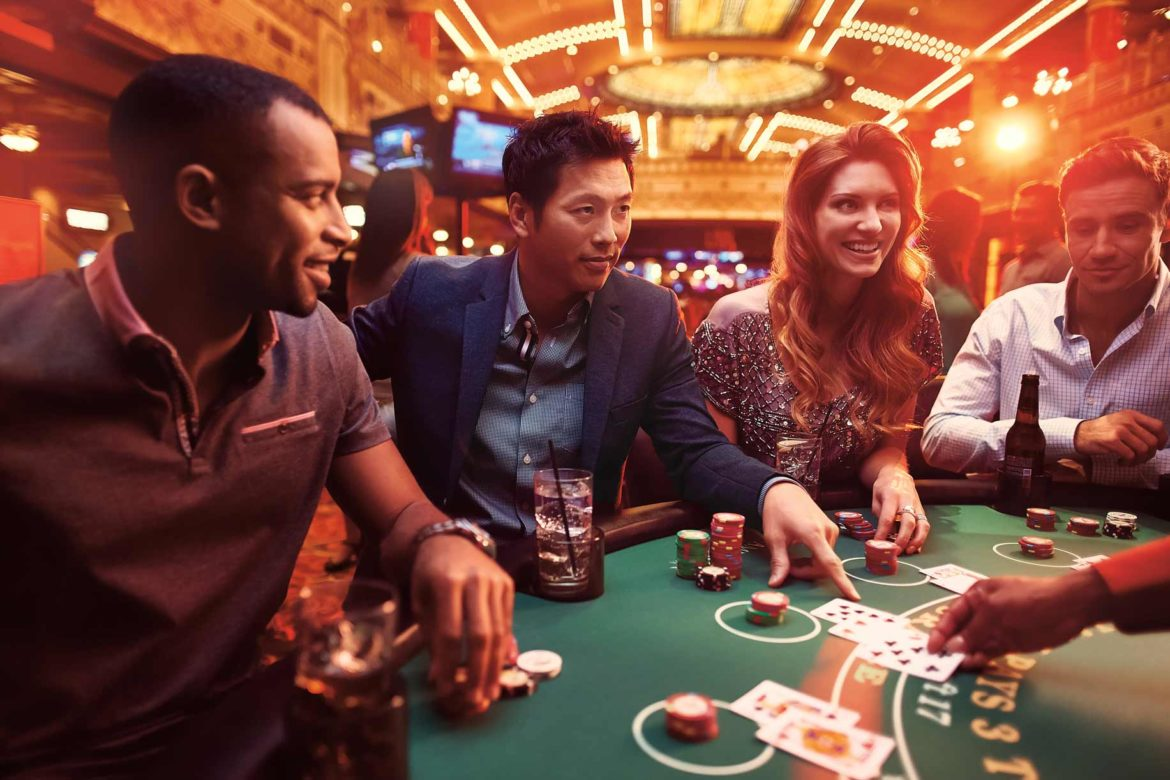 Why do people like online casino games?